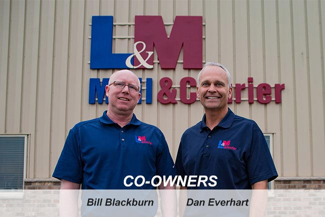 Owners of L&m Mail and Courier
